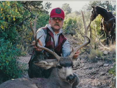 Trophy Desert Mule deer taken in New Mexico