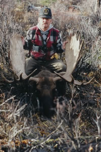 Canadian trophy moose